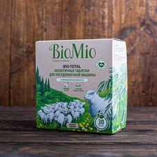 Экологичные таблетки для посудомоечной машины с эвкалиптом «BIO MIO» 30 шт