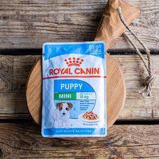 Влажный корм Royal Canin для щенков маленьких пород, в соусе