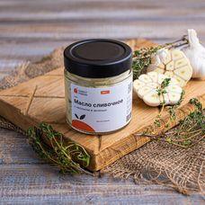 Масло сливочное с чесноком и зеленью
