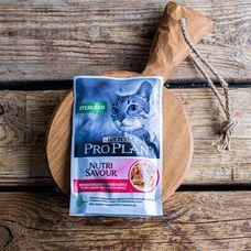 Влажный корм Purina Pro Plan для стерилизованных кошек и кастрированных котов «Утка»