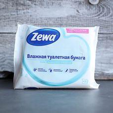 Влажная туалетная бумага «ZEWA Pure»