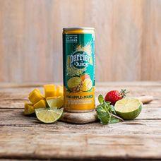 Газированный напиток Perrier с соком ананаса и манго