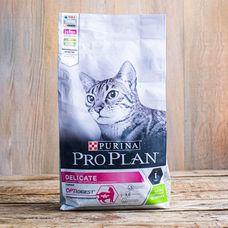 Сухой корм Purina Pro Plan Delicate для взрослых кошек с чувствительным пищеварением «Ягненок»