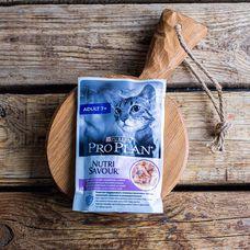Влажный корм Purina Pro Plan для пожилых кошек «Индейка»
