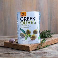 Органические зеленые оливки с косточкой BIO