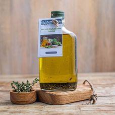 Подсолнечное масло сыродавленное с итальянскими травами