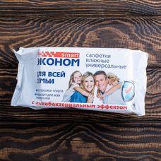 Антибактериальные влажные салфетки Smart 100 шт.