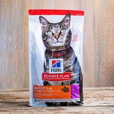 Сухой корм Hill's Science Plan для взрослых кошек всех пород «Утка»