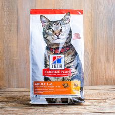 Сухой корм Hill's Science Plan для взрослых кошек всех пород «Курица»