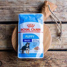 Влажный корм Royal Canin для щенков крупных пород, в соусе