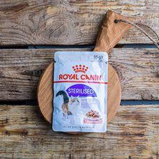 Влажный корм Royal Canin для стерилизованных кошек, в соусе
