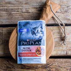 Влажный корм Purina Pro Plan для котят всех пород «Говядина»