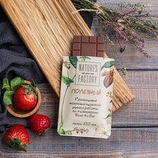 Полезный гречишный молочный шоколад ручной работы