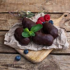 Творожные сырки в темном шоколаде, 4 шт. в упаковке