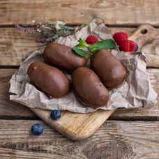 Творожные сырки в молочном шоколаде, 4 шт. в упаковке