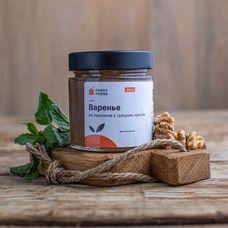 Домашнее варенье из персиков с грецким орехом