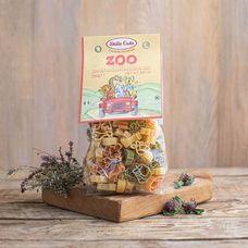 Паста с томатами и шпинатом «Зоопарк»