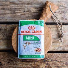 Влажный корм Royal Canin для взрослых собак маленьких пород, в соусе