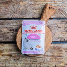 Влажный корм Royal Canin Kitten для котят до 1 года, в желе