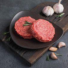 Стейки для бургеров из мраморной говядины
