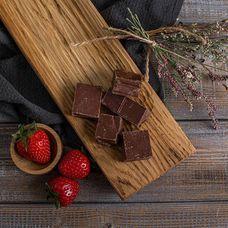 Молочный ремесленный кусковой шоколад 54%