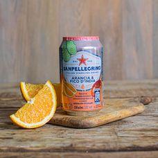 Sanpellegrino с соком апельсина и опунции