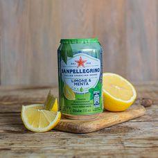 Sanpellegrino с соком лимона и мяты