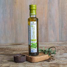 Оливковое масло нерафинированное Extra Virgin с базиликом