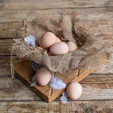 Яйца цесарки, 10 шт. в упаковке