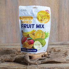 Смесь натуральных сушёных фруктов: ананас, банан, манго, сметанное яблоко
