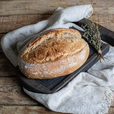 Хлеб пшеничный цельнозерновой на закваске