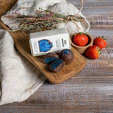 Конфеты в шоколадной глазури «Голубая нуга»