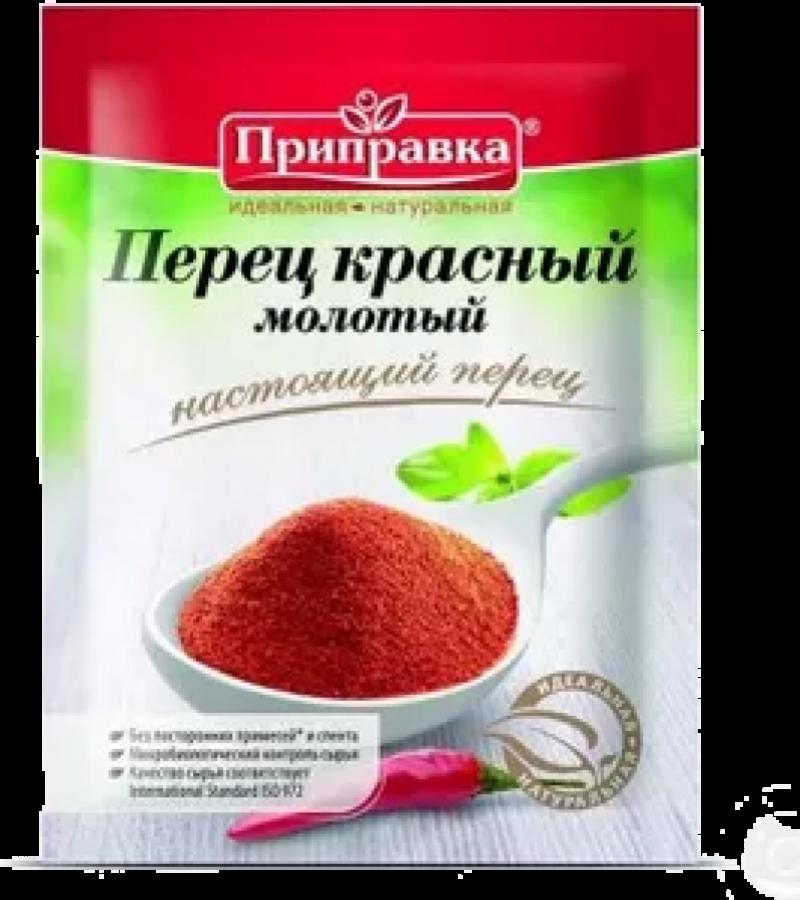Перец ТМ Приправка красный молотый 20г