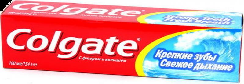 Зубная паста ТМ Colgate Свежее дыхание крепкие зубы 100мл