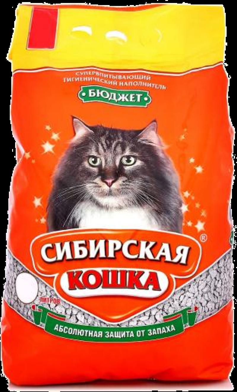 Наполнитель ТМ Сибирская Кошка Бюджет 5л