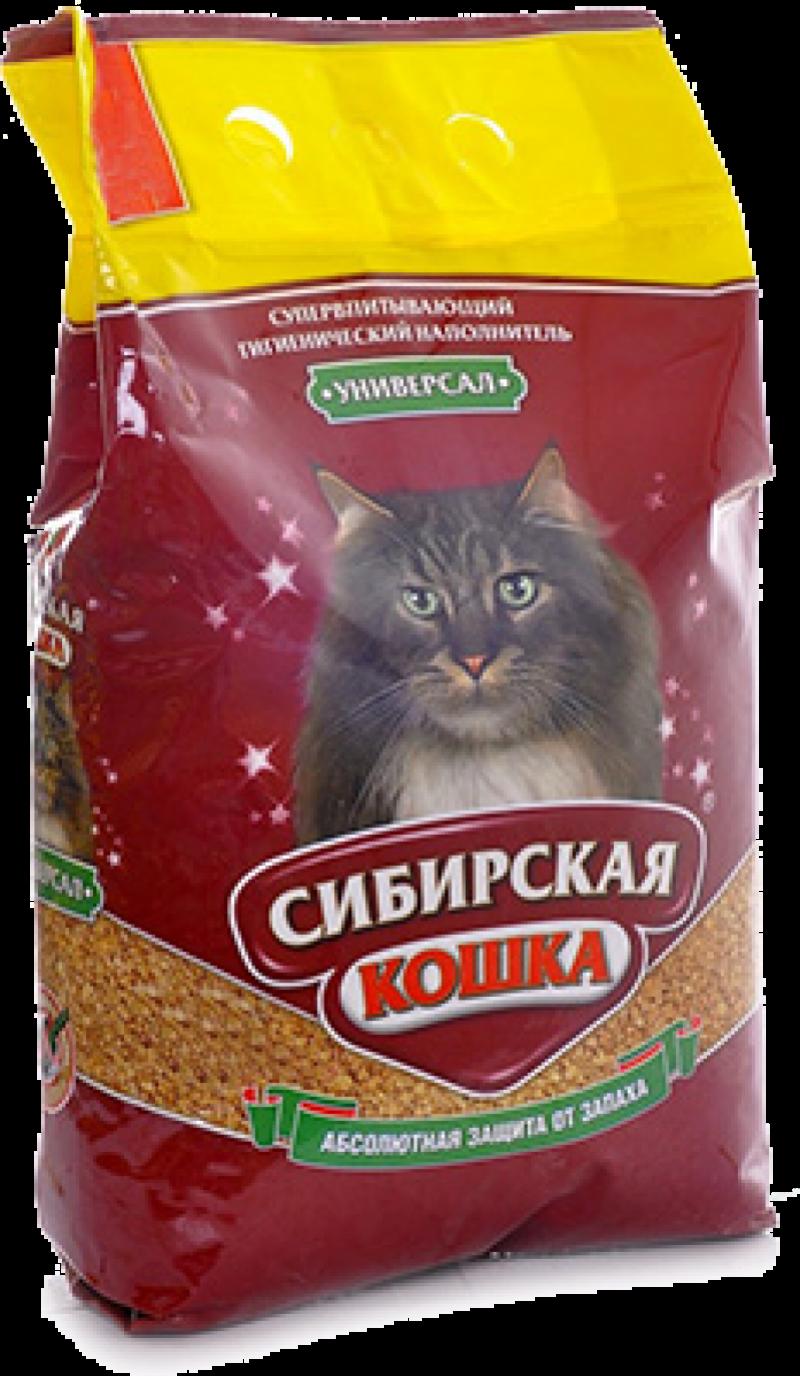 Наполнитель ТМ Сибирская Кошка Универсал 3л