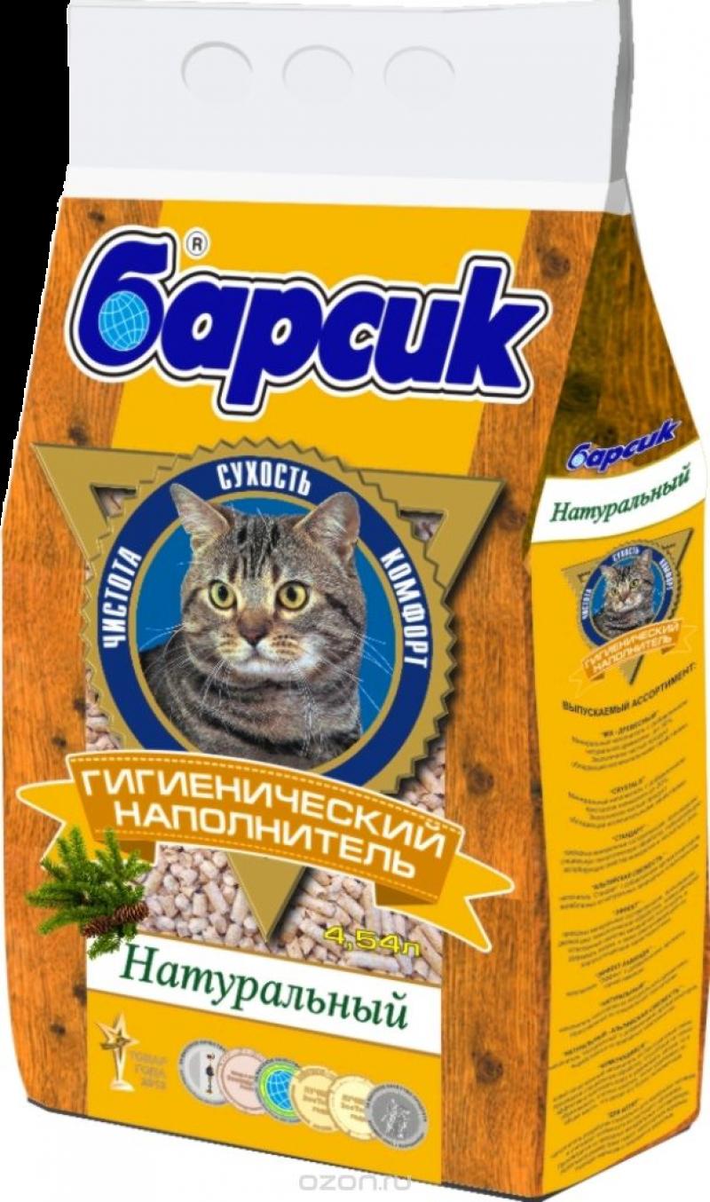 Наполнитель ТМ Барсик Натурал 4,54л