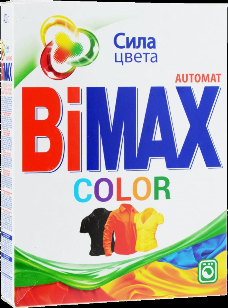 Порошок стиральный ТМ Bimax колор 400г