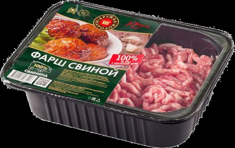 Фарш ТМ Дружба народов свиной 0,4кг