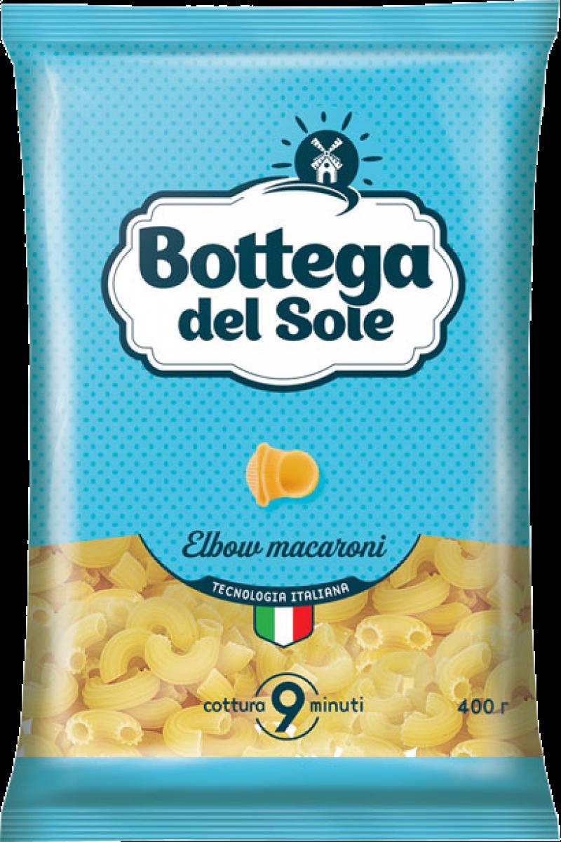 Макаронные изделия ТМ Bottega del Sole Рожки 400г