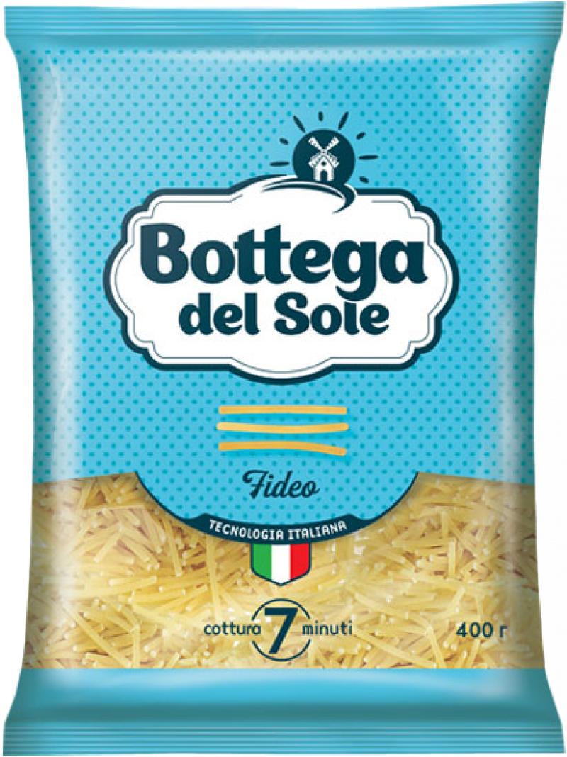 Макаронные изделия ТМ Bottega del Sole Вермишель 400г