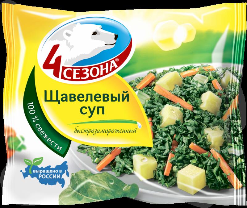 Суп ТМ 4 Сезона щавелевый 400г