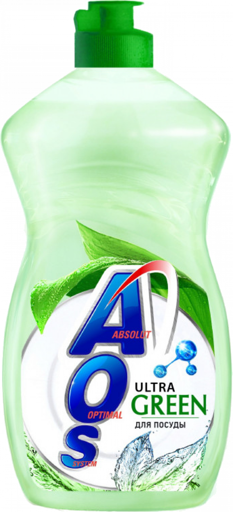 Бальзам для мытья посуды ТМ AOS Ультра Грин 450мл