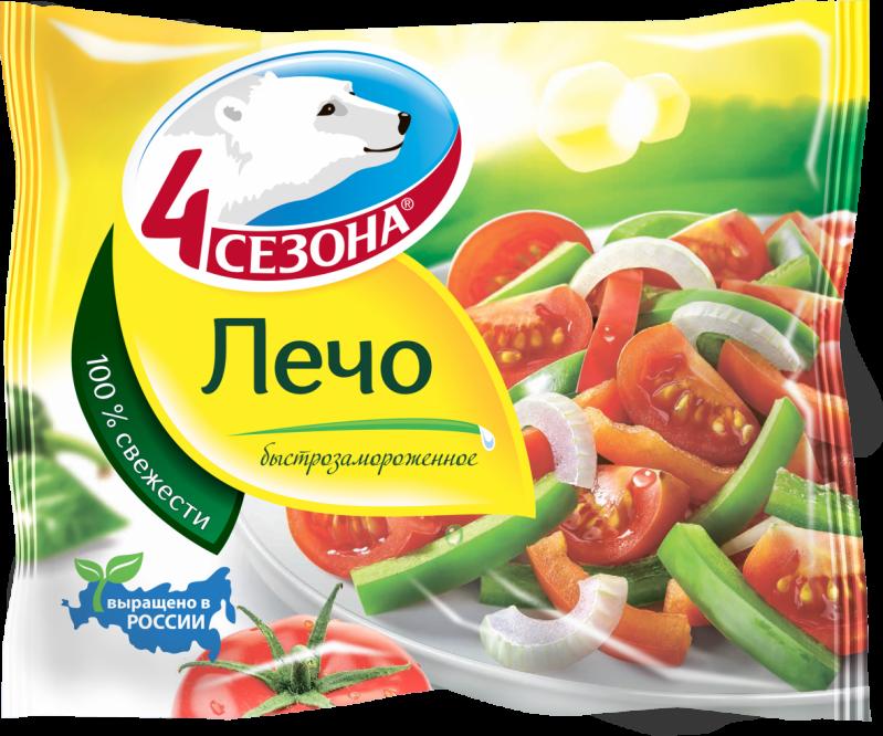 Замороженные овощи ТМ 4 Сезона Лечо 400г