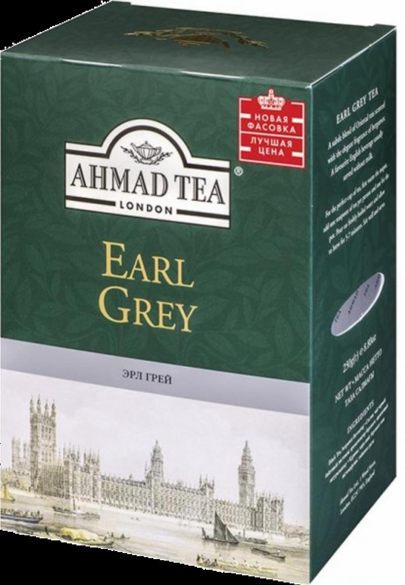 Чай ТМ Ahmad Tea Earl Grey с бергамотом 200г