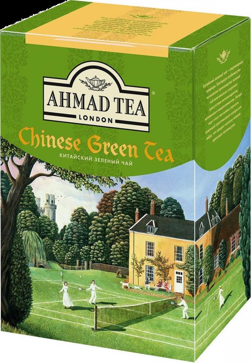 Чай ТМ Ahmad Tea Китайский зелёный 200г