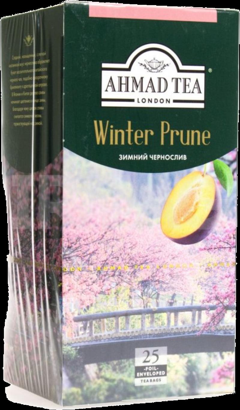 Чай ТМ Ahmad Tea Зимний чернослив 25*1,8г