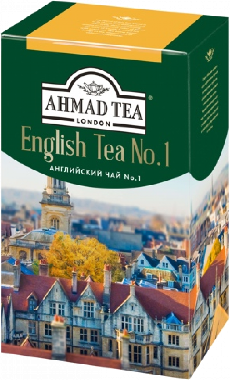 Чай ТМ Ahmad Tea черный Английский чай №1 100г