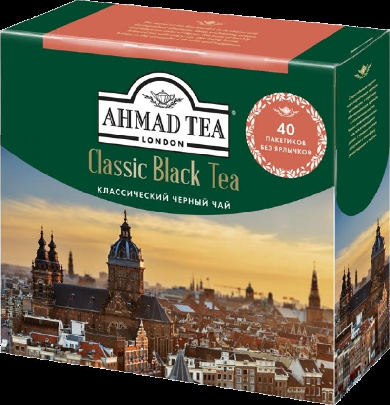 Чай ТМ Ahmad Tea Classic Black Tea 40*2г