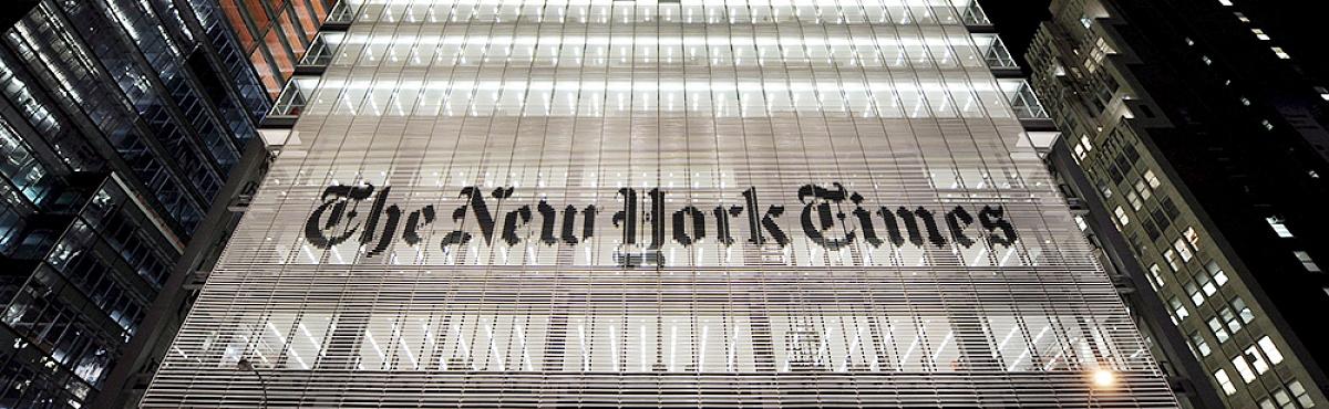 500 тысяч точек на первой полосе The New York Times